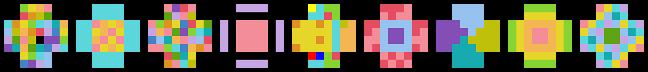 Jugo level icons B